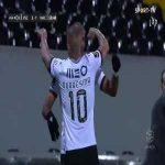 Vitoria Guimaraes [2]-1 Nacional - Oscar Estupinan 51'