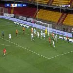 Benevento 2-0 Torino - Gianluca Lapadula 50'