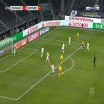Monchengladbach 1-[2] Dortmund - Erling Haaland 28'