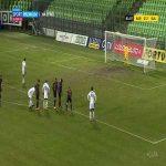 Karviná [1]-2 Slavia Praha - Kristi Qose PK 82'' (Czech First League)