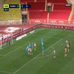 Monaco [3]-1 Marseille - Stevan Jovetic free-kick 90'+1'