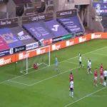 Swansea [2]-0 Nottingham Forest - Matt Grimes 29' (nice goal)