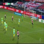 Feyenoord [1] - 1 AZ Alkmaar - Nicolai Jorgensen 32'