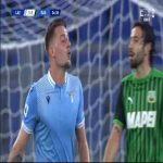 Lazio [1]-1 Sassuolo - Sergej Milinković-Savić 25'