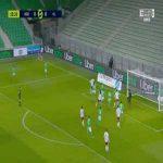 Saint-Étienne 0-1 Olympique Lyon - Tino Kadewere 16'