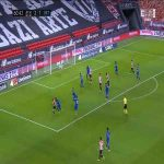 Athletic Bilbao [3]-1 Getafe - Raúl García 61'