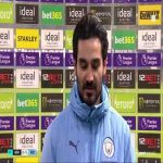 "Gündoğan: ""I've been playing a more offensive role the last few weeks... Cancelo plays a different role when we have the ball, I know he has that ability that's why I made the run."" 