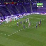Real Valladolid 1-[1] Levante - Enis Bardhi free-kick 23'