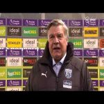 """Allardyce on keeping players in the dressing room after the game: """"It's better to get the disappointments out of the way straight after the game and put it to bed... I would have been angrier in the earlier days, I kept my composure to get the point across."""""""