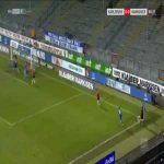 Karlsruhe 1-0 Hannover - Kingsley Schindler OG 65'