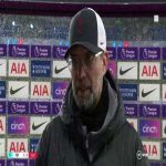 """Jürgen Klopp post match interview   """"Apart from a few minutes in the first half I don't think they had a lot of the ball."""""""