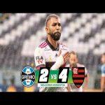 GRÊMIO 2 X 4 FLAMENGO | HIGHLIGHTS | BRASILEIRÃO Serie A