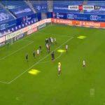 Hamburger SV 2-0 Paderborn - Sonny Kittel free-kick 22'