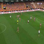 Valencia 1-0 Elche - Daniel Wass 23'