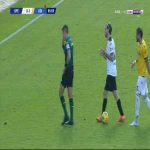 Riccardo Saponara (Spezia) second yellow card against Udinese 86'