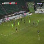 Wolfsburg 3-0 Freiburg - Yannick Gerhardt 86'