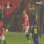 Alexandre Jankewitz straight red card against Manchester United 2'