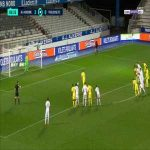 Donovan Leon (Auxerre) penalty save against Toulouse 84'