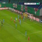 RB Leipzig 4-0 Bochum - Yussuf Poulsen 75'