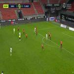 Rennes 1-[1] Lorient - Quentin Boisgard 83'