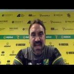 Farke's somewhat epic response to Norwich City's dry spell