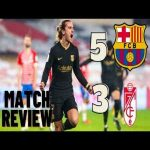 [OC] Granada vs Barcelona [3-5] match review. Im new to making videos so please if you have anything for me to improve on feel free to tell me!