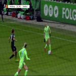 🚀⚽ An absolute wonderstrike by Joelle Wedemeyer for Wolfsburg Frauen against Eintracht Frankfurt