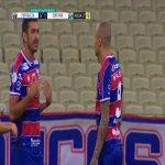 Coritiba goalkeeper Wilson is sent off after an irregular penalty save; stand-in Martín Sarrafiore follows up by saving the retaken penalty (Fortaleza 3:1 Coritiba, Brasileirão)