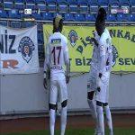 Kasimpasa 0 - [1] Hatayspor - Aaron Boupendza 44'