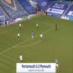 Portsmouth [1]-2 Plymouth - Ronan Curtis 86'