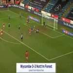 Wycombe 0-3 Nottingham Forest - Anthony Knockaert 72'