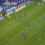 Hoffenheim 1-[2] Frankfurt - Obite Evan N'Dicka 62'