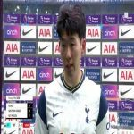 """Son: """"We had a few bad results in a row, it was really important to get back to winning ways... When I play with Harry, it's really enjoyable, I missed him, I'm happy he scored again.""""   Post-Match Interview"""