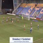 Shrewsbury [1]-1 Sunderland - Ethan Ebanks-Landell 52'