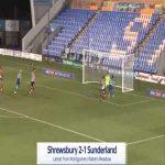 Shrewsbury [2]-1 Sunderland - Harrison Chapman 68'