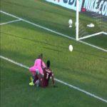 Amiens 0-1 Metz - Aaron Iseka Leya 1'