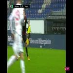 Great goal by Phillip Tietz (SV Wehen Wiesbaden) vs Türkgücü München in Germany's 3. Liga last Sunday