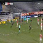 Waalwijk 1-0 FC Emmen - Ahmed Touba 90'