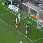 Lyon [1]-1 Montpellier - Lucas Paqueta 45'+2'