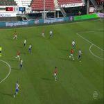 AZ Alkmaar [1]-0 SC Heerenveen | Calvin Stengs 21'
