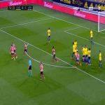 Cadiz 0-2 Athletic Bilbao - Unai Lopez free-kick 15'