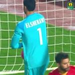 Great double save by Al Ahly goalkeeper Mohamed El Shenawy against El Merreikh in the African Champions League
