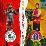 ATK MOHUN BAGAN vs SC EAST BENGAL. It's the Kolkata Derby, the biggest derby in Asia, the iconic match of Indian Football. The rivalry which is recognised all over the world, is happening for the 2nd time in Indian Super League (ISL). 7:30 pm IST | 2:00 pm GMT