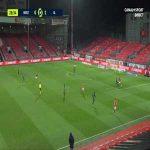 Brest 0-2 Lyon - Houssem Aouar 29'