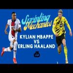 [OC] Comparing Kylian Mbappe and Erling Haaland sprinting mechanics & key technique differences