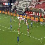 FC Emmen 1-[1] PEC Zwolle - Bram van Polen 43'
