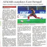 [The Hindu] | ATKMB outplays East Bengal