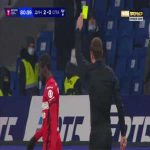 Victor Moses (Spartak Moscow) second yellow card against Dynamo Moscow 82'