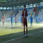 Erzurumspr Vs Hatayspor played at -7 degrees and opened the field heating system