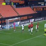 Lorient 1-[3] Lille - Jonathan Ikone free-kick 59'